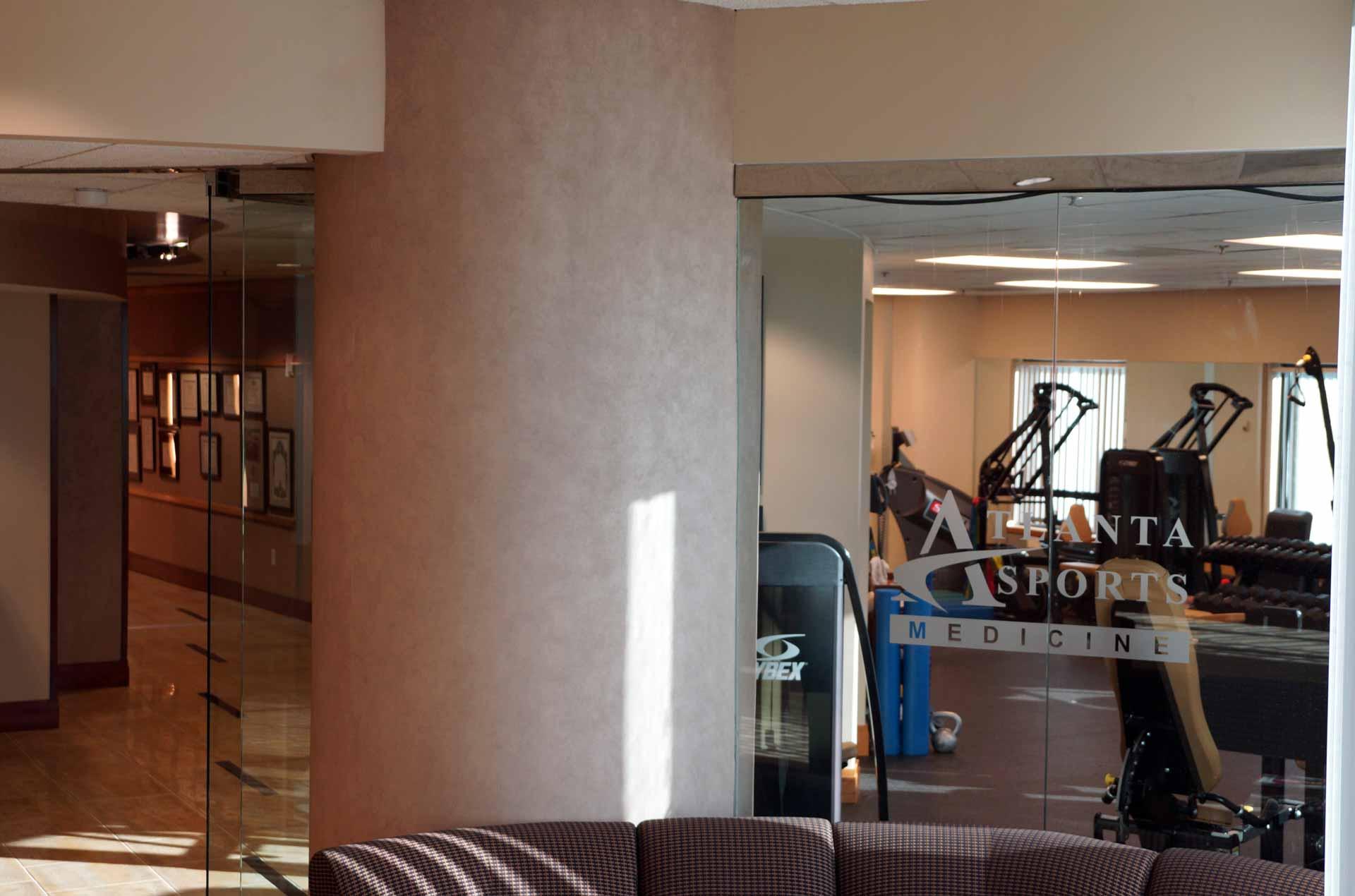 Atlanta Physical Therapy Hallway